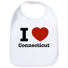 I love Connecticut Bib