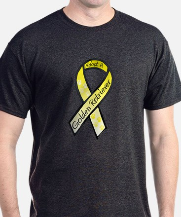 Golden Ribbon C T-Shirt