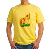 Reggae Mens Yellow T-shirts