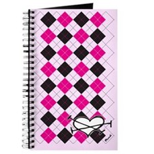 Heartgyle Pink Journal