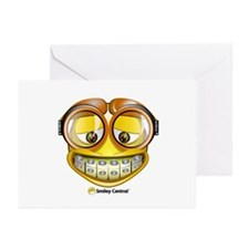 Nerd (Male) Greeting Cards (Pk of 10)