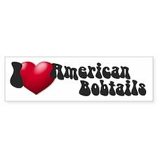 """I Love AmBobs"" Bumper Bumper Sticker"