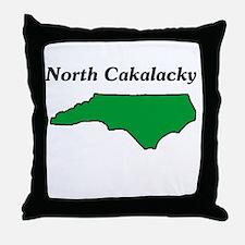 North Cackalackey Throw Pillow