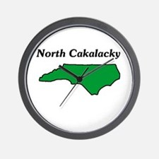 North Cackalackey Wall Clock