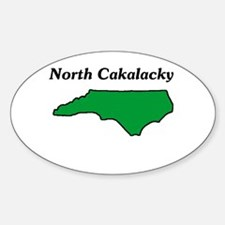 North Cackalackey Oval Decal