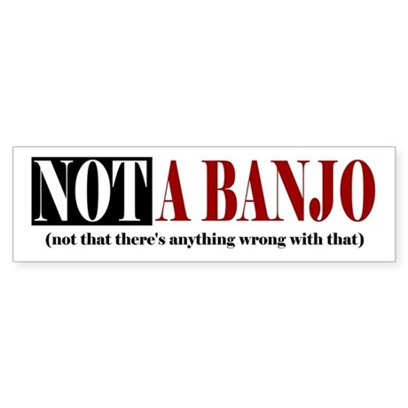 Not a banjo (not that there's...)