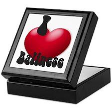 """""""I Love Balis"""" Keepsake Box"""