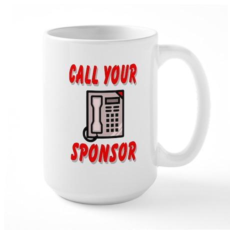 12 Step Sponsorship Mug
