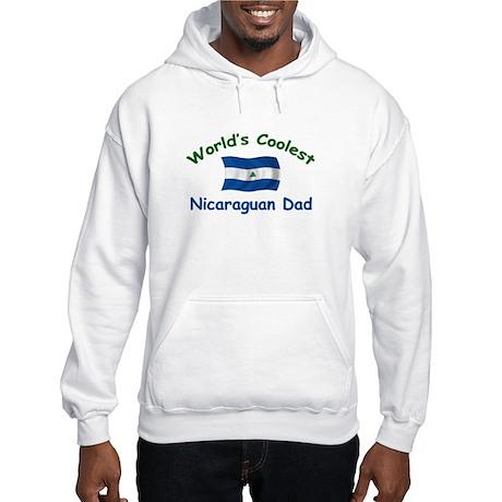 Coolest Nicaraguan Dad Hooded Sweatshirt