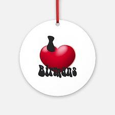 """I Love Birmans"" Keepsake (Round)"