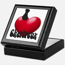 """""""I Love Chrtx"""" Keepsake Box"""