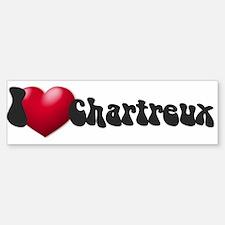 """""""I Love Chrtx"""" Bumper Bumper Bumper Sticker"""