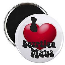 """I Love E-Maus"" Magnet"