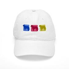 Color Row Otterhound Hat