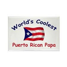 Coolest Puerto Rican Papa Rectangle Magnet