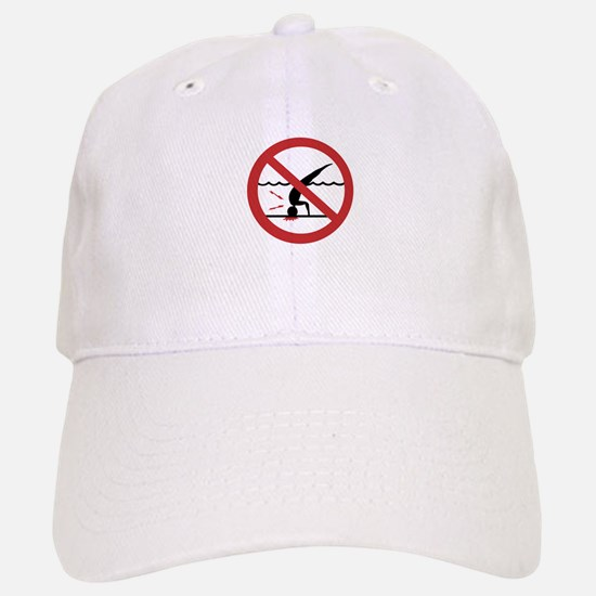 No Diving, International Baseball Baseball Cap