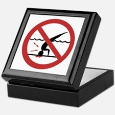 No Diving, International Keepsake Box