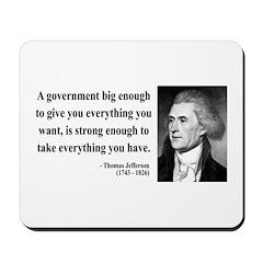Thomas Jefferson 1 Mousepad
