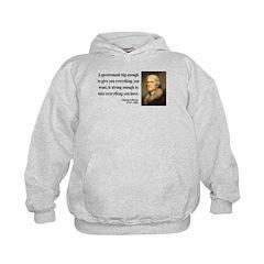 Thomas Jefferson 1 Hoodie