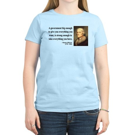 Thomas Jefferson 1 Women's Light T-Shirt