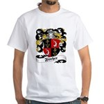 Fischer Family Crest White T-Shirt