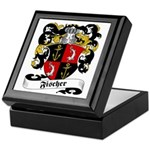 Fischer Family Crest Keepsake Box