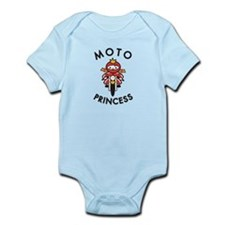 Moto Princess Infant Bodysuit