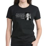 Thomas Jefferson 4 Women's Dark T-Shirt