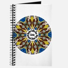 Red Border Collie Kaleidoscope Journal