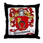 Fleischmann Family Crest Throw Pillow