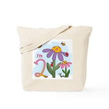 Silly Garden 2nd Birthday Tote Bag