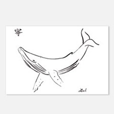 Humpback whale Postcards (Package of 8)