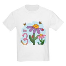 Silly Garden 3rd Birthday T-Shirt