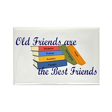 Books Best Friends Rectangle Magnet