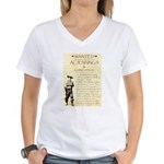 Al Jennings Gang Women's V-Neck T-Shirt