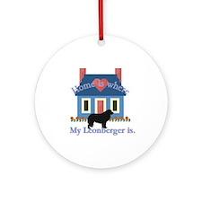 Leonberger Ornament (Round)