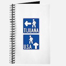 Pedestrian Crossing Tijuana-USA, US Journal