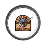 Chicago Animal Control Wall Clock