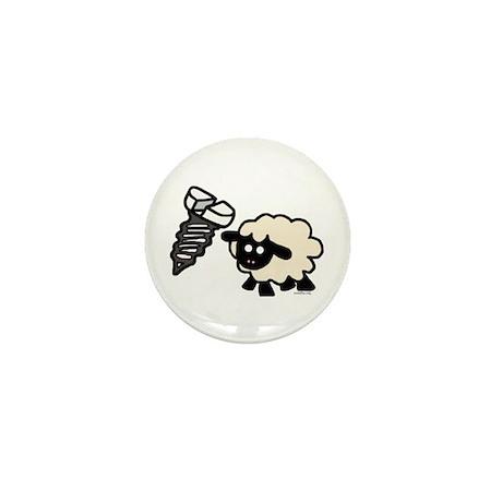 Screw Ewe Mini Button (10 pack)