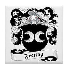 Freitag Family Crest Tile Coaster