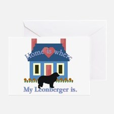 Leonberger Greeting Card