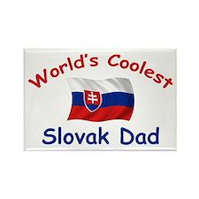 Coolest Slovak Dad Rectangle Magnet