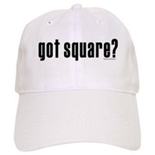 got square? Baseball Cap