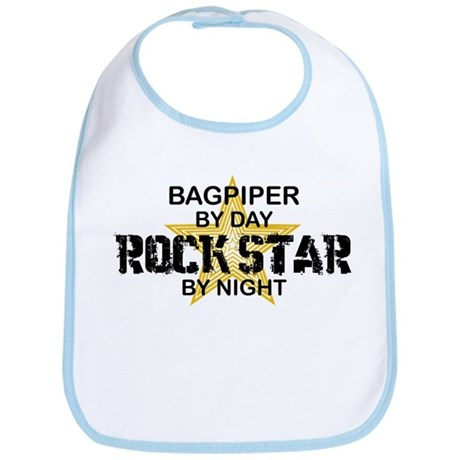 Bagpiper Rock Star Bib