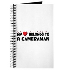 Belongs To A Cameraman Journal