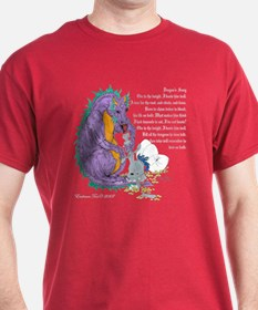 Dragon's Song Cranberry T-Shirt