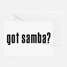 got samba? Greeting Cards (Pk of 20)