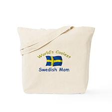 Coolest Swedish Mom Tote Bag