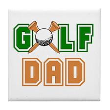 Golf Dad Tile Coaster