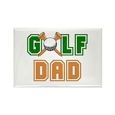 Golf Dad Rectangle Magnet